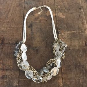 LOFT Tangled Statement Necklace